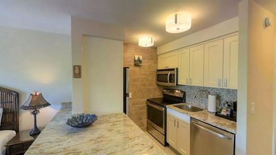 Photo for Mtn. View Studio right on the beach, easy walk to Lahaina+nightlife