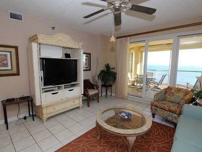 Photo for Beach Colony Tower 15D- Beach Front unit with large terrace & amazing views!
