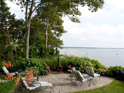 Photo for North Fork Bayfront Home w Private Beach & Nearby the Finest Wineries & Eateries