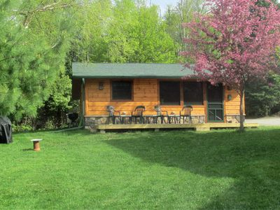 Photo for Birch Point Guest Cabin -- Private, Spacious, Quiet, Air Conditioned