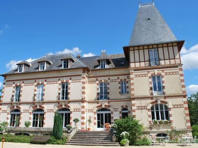 Photo for Chateau 150kms south of Paris for 24 people