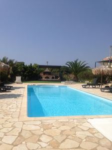 Photo for SPECIAL OFFER!!! Beach Front, Large Pool, Sea Views, Beach 100m, Waterpark 2km