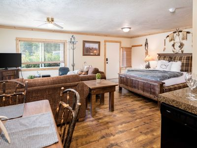 Photo for Outpost: Eagles Rest 2 Studio - AC, Hot Tub & Pool Access!