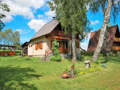 Photo for Holiday house with garden fireplace and garden