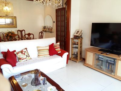 Photo for LUXURY - 3 BEDROOMS - COPACABANA BEACH COURT Comfortable, Safe and Airy