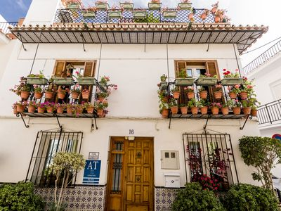 Photo for 2nd floor of CASA CHARLOTTE with a private terrace. Free WIFI.  In the center.