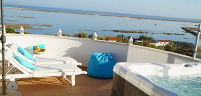 Photo for Top Apt With Roof Terrace, Stunning 180º Atlantic Ocean and Ria Formosa View!