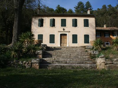 Photo for Country House, Domaine de Valrose, VAR, 10 people