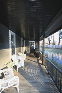 porch - south side