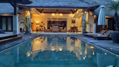 Photo for Beautiful 5* Villa Indah in Seminyak Beach