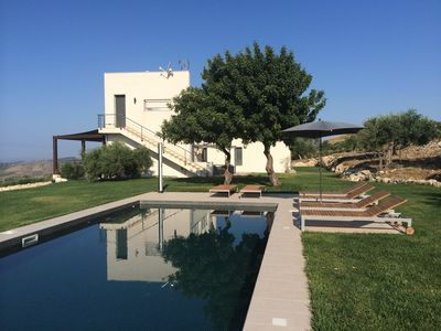 Photo for Beautiful new villa on a huge plot with a private pool