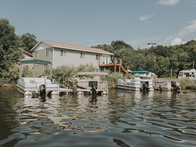 Photo for Lake Front Vacation Rental Near Mille Lacs On Ann Lake