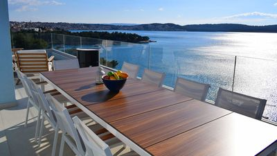Photo for Luxurious sea view  five star apartment White Sky - EOS-CROATIA