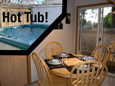 Photo for Charming Apartment w/ HOT TUB Close to Everything! (8635)