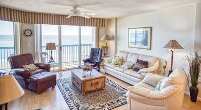 Photo for Ashworth Unit 803! Stunning Ocean Front Condo! Book your get away today!