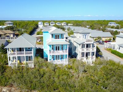 Photo for Home With Gulf Views On 30-A-Just Steps To The Beach;-4 Bikes Included