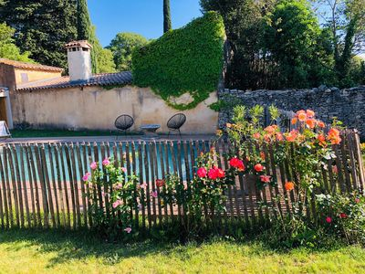 Photo for House downtown Uzes, private pool and garden, Uzes walk