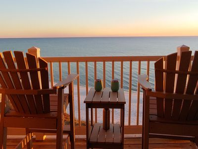 Photo for Beautiful Gulf Front Condo- 2 Balconies Overlook Amazing Gulf-Great for families