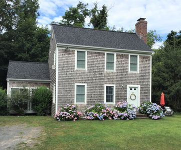 Photo for Lovely Cape Cod 3 bedroom walk to Corporation beach & Dennis village