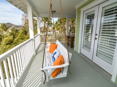 Photo for Luxury Tybee Island home with heated pool! One home back from the Beach!