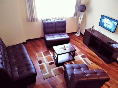 Photo for Large, Comfy and Private Apartment (Obrajes)