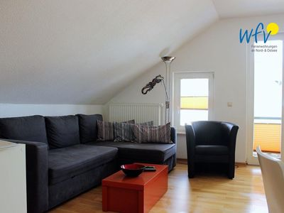 Photo for Apartment with separate bedroom and south / west facing balcony