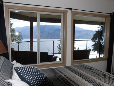Photo for Gorgeous Mountain/Water views-Lower 2 Bedroom Suite-Sleeps up to 5-private drive