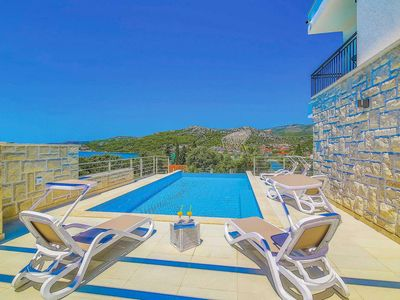 Photo for 4 bedroom Villa, sleeps 8 in Seget Vranjica with Pool, Air Con and WiFi