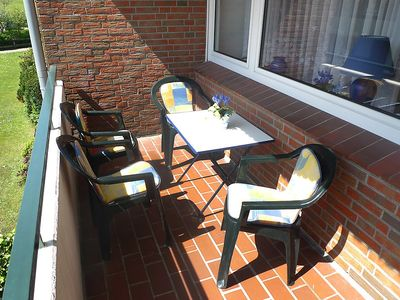 Photo for Apartment in Norden with Parking, Washing machine, Balcony, Garden (85693)