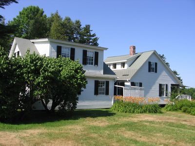 Photo for Scenic Oceanfront Summer House In Maine