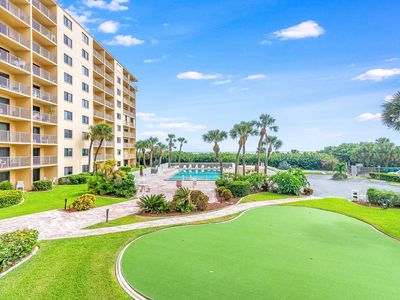 Photo for Cape Canaveral ocean view condo w/ direct beach access & a shared pool