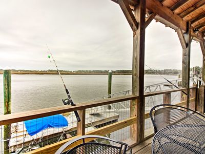 Photo for Waterfront Midway Home w/ Private Dock & Grill!