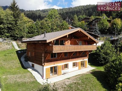 Photo for Charming semi-detached Chalet Ovronne Ouest in the center