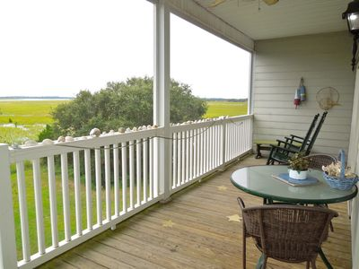 Photo for Marsh Winds 2K - Breathtaking Views of the Folly River!!