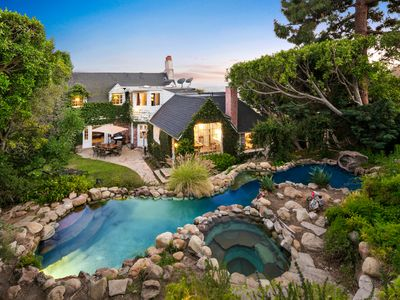 Photo for Orson Welles Estate with Lagoon Pool, Jacuzzi, Stunning Views of Hollywood