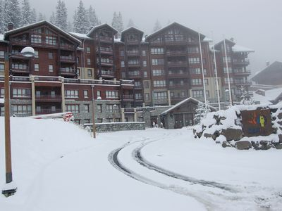 Photo for Luxury Apartment In 5* Development In The Grand Masiff Ski Area
