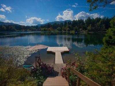 Photo for Beautiful Lakefront Home on Fuller Lake in Chemainus, British Columbia