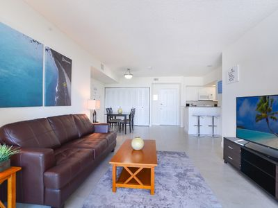 Photo for Only steps away from the sandy Sunny Isles Beach. Pet-friendly