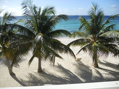 This is your view!  direct beachfront view from our patio