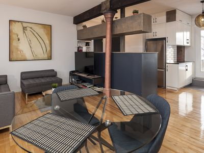 Photo for Newly renovated loft + parking and big deck in the heart of Old MTL