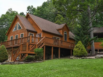 Photo for Amazing Adventure: Conveniently located chalet with outdoor hot tub!