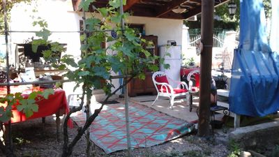 Photo for 1000m2 garden shed by the river in the village of Barjols