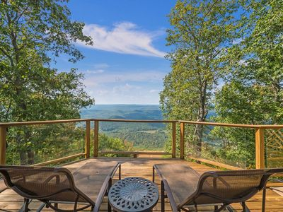 Photo for Scenic Sunset Views on Lookout Mountain Bluff. The Brow House. 50% Down To Reserve