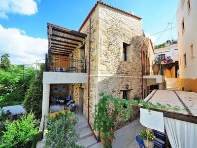Photo for Apartment Jasmine Traditional House in Panormos, Rethymnon - 4 persons, 1 bedrooms