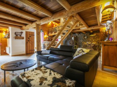 Photo for House Le Bourg d'Oisans Center 8 to 14 people at the foot of the Alpe d'Huez SAUNA SPA