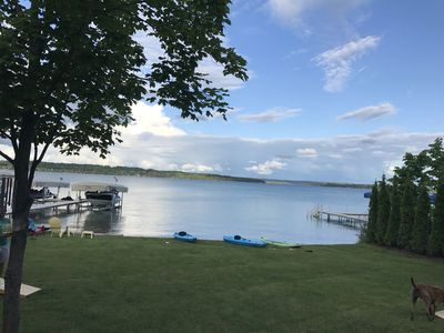 Photo for Gorgeous Elk Lake Home And Guest Cottage ~ Includes Kayaks & Paddleboards!