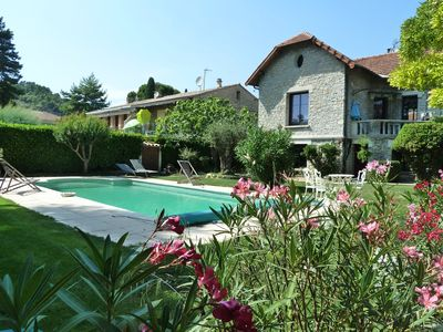 Photo for 2 Bedroom Ground Floor Flat With Pool - Centre Of Vaison La Romaine