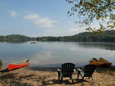Photo for Muskoka Cottage with a Private Beach