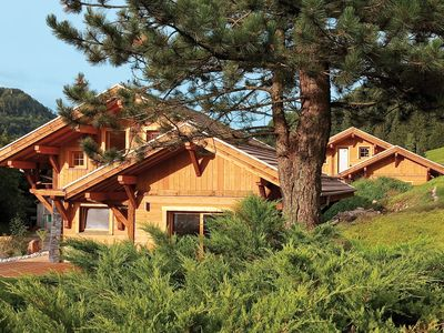 Photo for Beautiful new chalet with sauna in Bresse, central Vosges