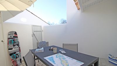 "Photo for Le Clos des Flots, La Flotte - House ""La Plage"" - private patio, private parking"